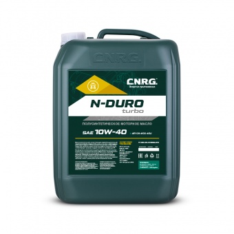 N-Duro Turbo 10W-40 канистра 20 литров
