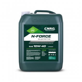 C.N.R.G. N-Force Supreme 10W-40 SN/CF канистра 20 литров